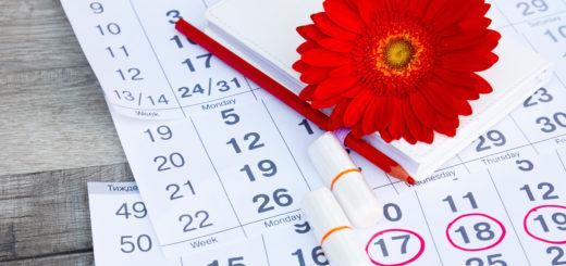 月経周期カレンダーチェック