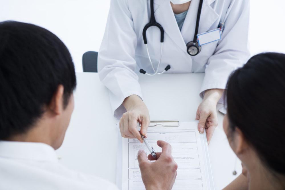 不妊治療 夫婦と医者