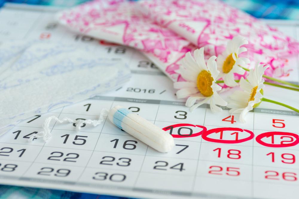 月経生理周期カレンダー