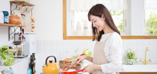 女性 主婦 キッチン