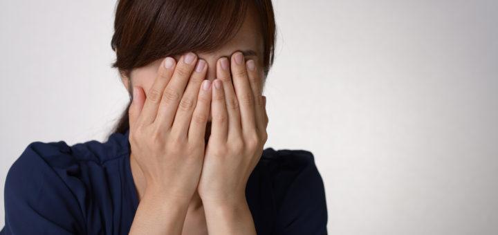 妊活悲しむ女性