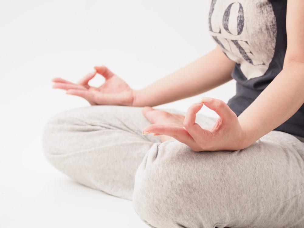 瞑想メンタルトレーニング女性