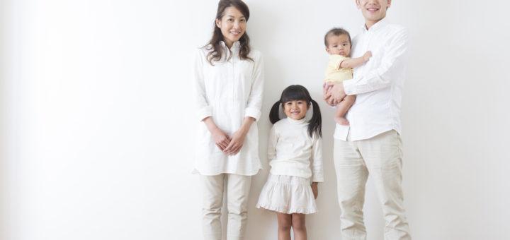赤ちゃんの誕生家族