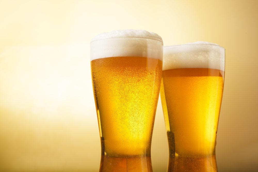 ビール飲酒