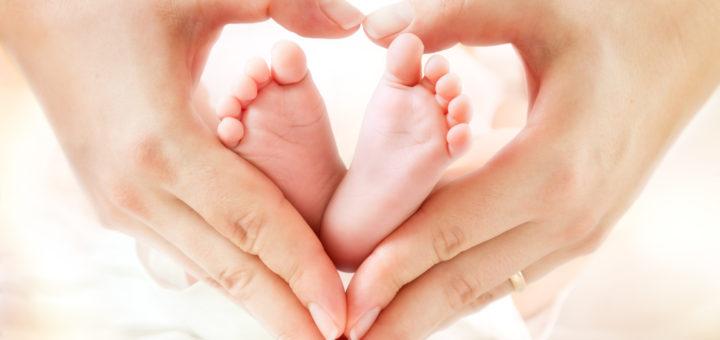 赤ちゃん 手の中